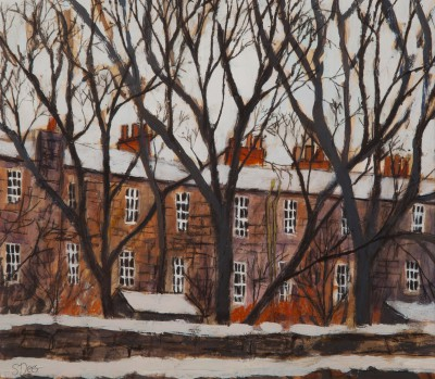 Scottish Artist Stephanie DEES - First Snow