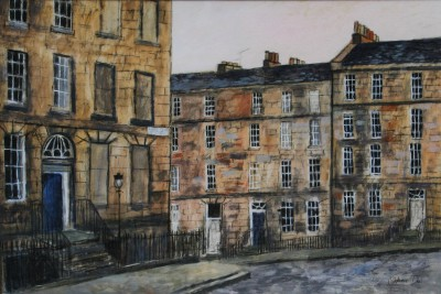 Scottish Artist Stephanie DEES - New Town Edinburgh