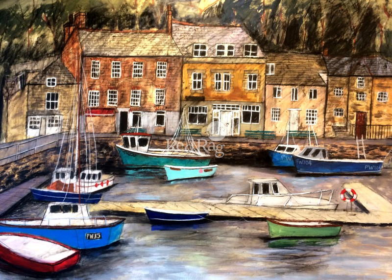 Stephanie DEES - The Harbour at Padstow