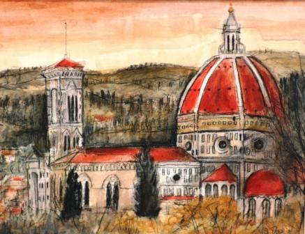 Stephanie DEES - The Duomo, Florence
