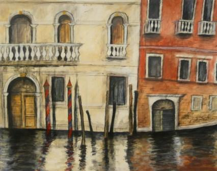 Scottish Artist Stephanie DEES - Venetian Detail