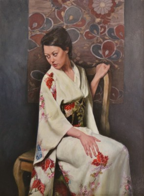 The Oak Chair painting by artist Stephanie REW