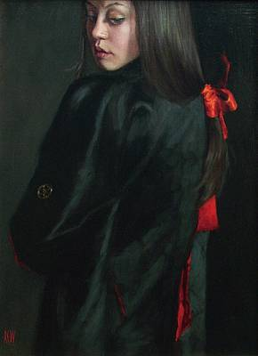 Scottish Artist Stephanie REW - Red Ribbon