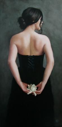 Scottish Artist Stephanie REW - White Gardenia