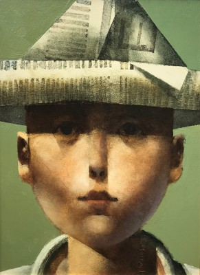 'Boy in Hat' painting