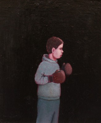 Shadow Boxing painting by artist Stuart BUCHANAN