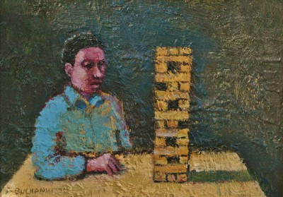 Scottish Artist Stuart BUCHANAN - Jenga