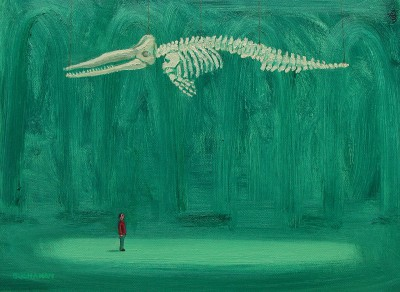 Scottish Artist Stuart BUCHANAN - Leviathan