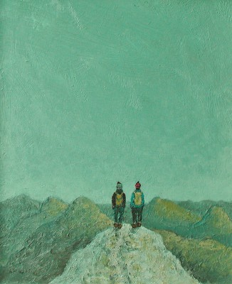 Scottish Artist Stuart BUCHANAN - Summit
