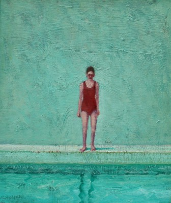 Scottish Artist Stuart BUCHANAN - Pool