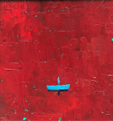 Scottish Artist Stuart BUCHANAN - Red Sea Blues