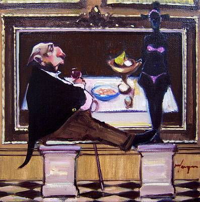 Scottish Artist Joe HARGAN - The Connoisseur