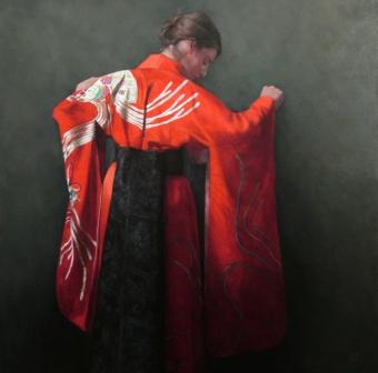 Scottish Artist Stephanie REW - The Ceremony