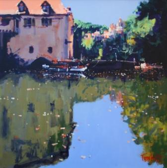 Scottish Artist Tom WATT - Lot Reflections