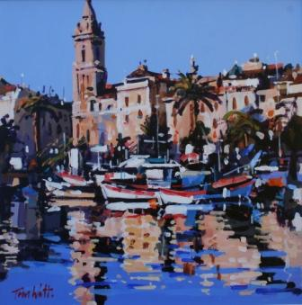 Scottish Artist Tom WATT - Port de Sanary sur Mer