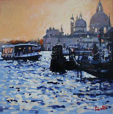 Scottish Artist Tom WATT - Evening, Santa Maria Della Salute