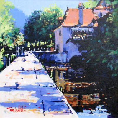 Tom WATT - Lock at St Cirq Lapopie