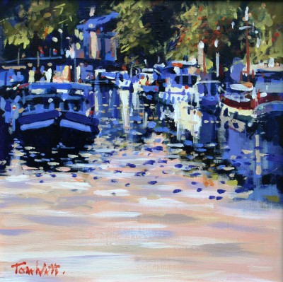 Moissac II - Study painting by artist Tom WATT