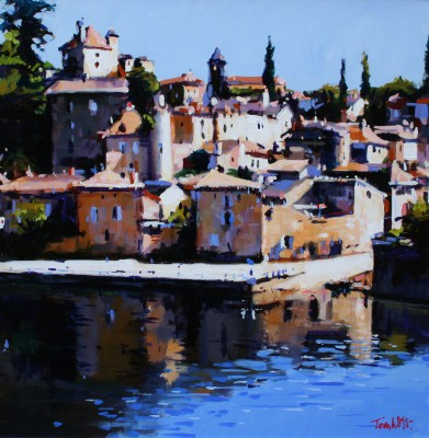 Scottish Artist Tom WATT - Puy l'Eveque I