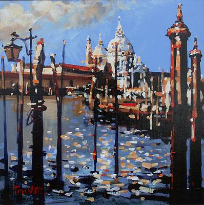Scottish Artist Tom WATT - Sunlight Venice