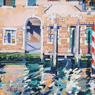 Jennifer IRVINE - Venetian Reflections